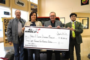 GP Auto Group makes Dino Days donation