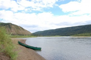 The Peace River. Photo by Trina Du.