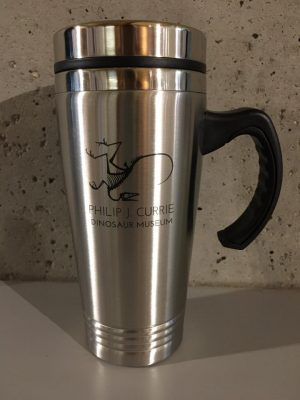 stainless stell mug with handle