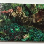 triceratops post card