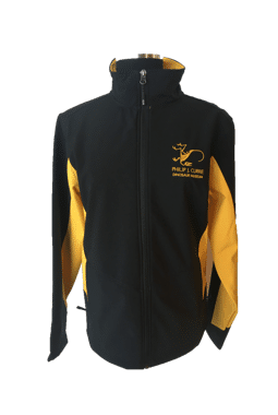 Coal Harbour Yellow and Black Mens Jacket